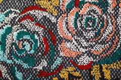 Textiles rose royalty free stock image