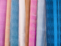 Textiles For Sale Royalty Free Stock Photography