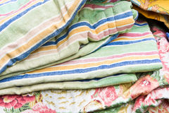 Textiles sale Stock Photography