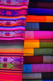 Textiles traditionnels Images stock