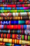 Textiles traditionnels Photographie stock libre de droits