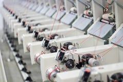 Textilfabrik arkivfoto
