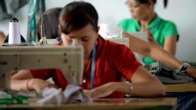 Textilfabrik lager videofilmer