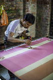 Textilfabrik i Indien Royaltyfri Foto