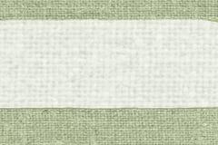 Textilgarn, tygbeståndsdel, malakitkanfas, föråldrat material, gammal bakgrund Royaltyfri Fotografi