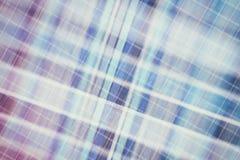 Textilhintergrund in der Weinleseart -- Flanell, Baumwolle in die klassische schottische Zelle und strukturiertes gestrickt mit e stockfotografie