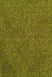 Textilhintergrund - olivgrünes Grün Stockfoto
