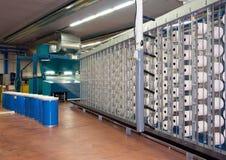 Textilindustrie (Denim) - spinnend Stockfotografie