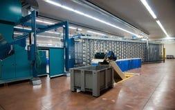 Textilindustrie - spinnend und verwerfend Lizenzfreie Stockfotografie