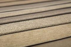 Textilkatalog, bunte Gewebeproben stockfoto