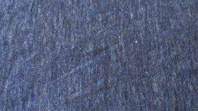 Textilmakro som göras från bomull royaltyfri fotografi