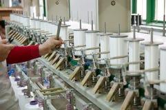 Textilmaschine Stockfotografie