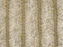 Textilmaterial mit Streifen Stockfoto