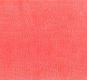 Textilmodell för röd färg Arkivfoton