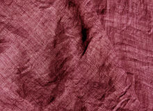Textilmodell för röd färg Arkivbilder