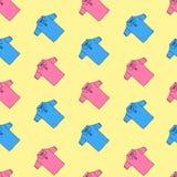 Textilnahtloses Muster stock abbildung