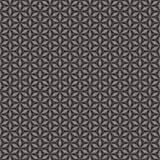 Textilstoff Schwarzweiss lizenzfreie abbildung