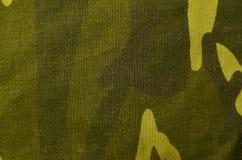 Textiltarnungs-Stoffbeschaffenheit Stockfotos