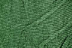 textiltextur för grön färg Royaltyfria Bilder