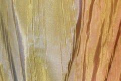 Textiltextur för naturlig bakgrund i horisontalposition Arkivbild