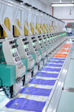 Textilwerkstatt Stockfotografie