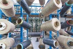 Textilwerkstatt Lizenzfreie Stockfotos