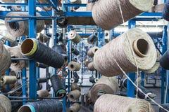 Textilwerkstatt Stockfoto