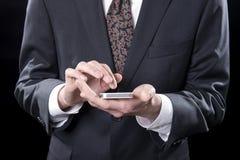 Texting现在您 图库摄影