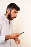 texting的人们 库存照片