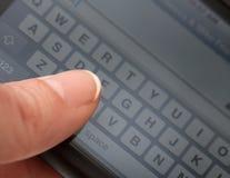 Texting Στοκ Εικόνες