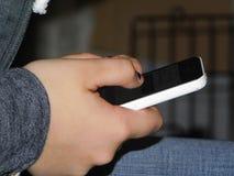 Texting imagem de stock