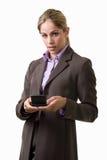 texting kobieta obrazy stock