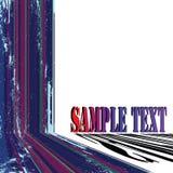 Textkarte grunge Streifen Lizenzfreies Stockfoto