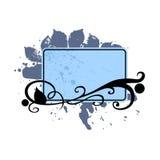 Textleerzeichen mit Flourishes 2 Lizenzfreies Stockbild