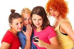 Textmeddelande Fotografering för Bildbyråer