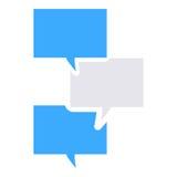 Textnachrichtikone Lizenzfreie Abbildung