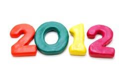 Texto 2012 Fotos de Stock