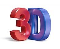 texto 3D Imagen de archivo libre de regalías
