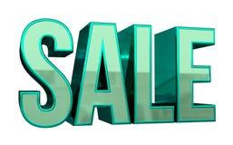 Texto da venda 3D Imagens de Stock