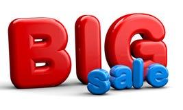 texto da venda 3d ilustração stock