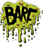 Texto de Barf Fotos de Stock
