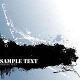 Texto de Grunge Imagem de Stock Royalty Free