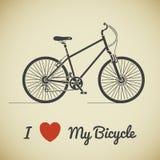 Texto de la hormiga de la bicicleta Foto de archivo libre de regalías