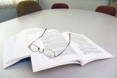 Texto de la lectura Foto de archivo libre de regalías