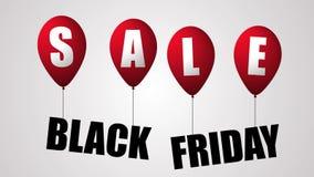 Texto de la venta de Black Friday y 4K animado stock de ilustración