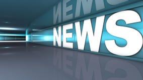 Texto de las noticias stock de ilustración