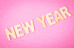 Texto del Año Nuevo Fotos de archivo