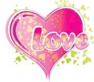 Texto del amor Imagen de archivo libre de regalías