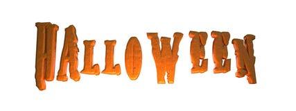 Texto del ` de Halloween del ` Imagenes de archivo
