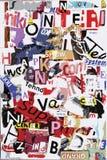 Texto do grunge do vetor Fotografia de Stock Royalty Free